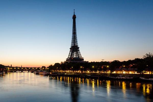 Paris, France scene