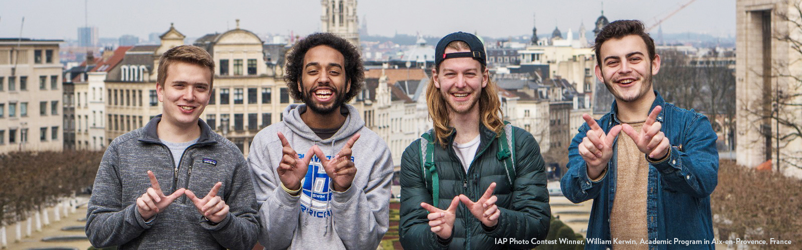 Photo of students in Brussels, Belgium