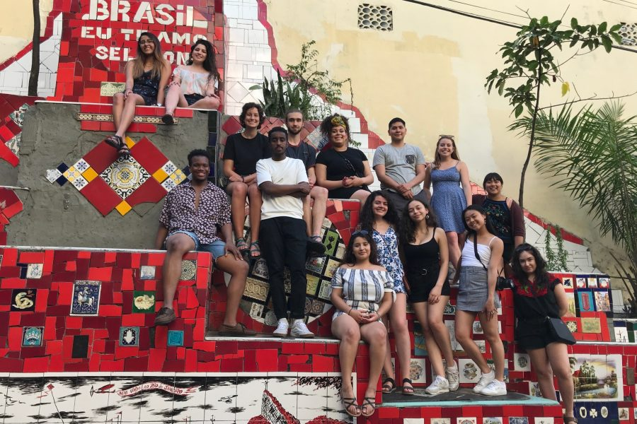 UW Global Gateway Brazil students photo