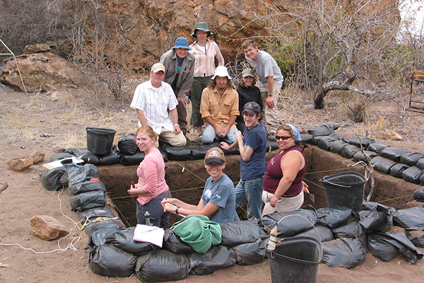 Swartkrans, South Africa students photo